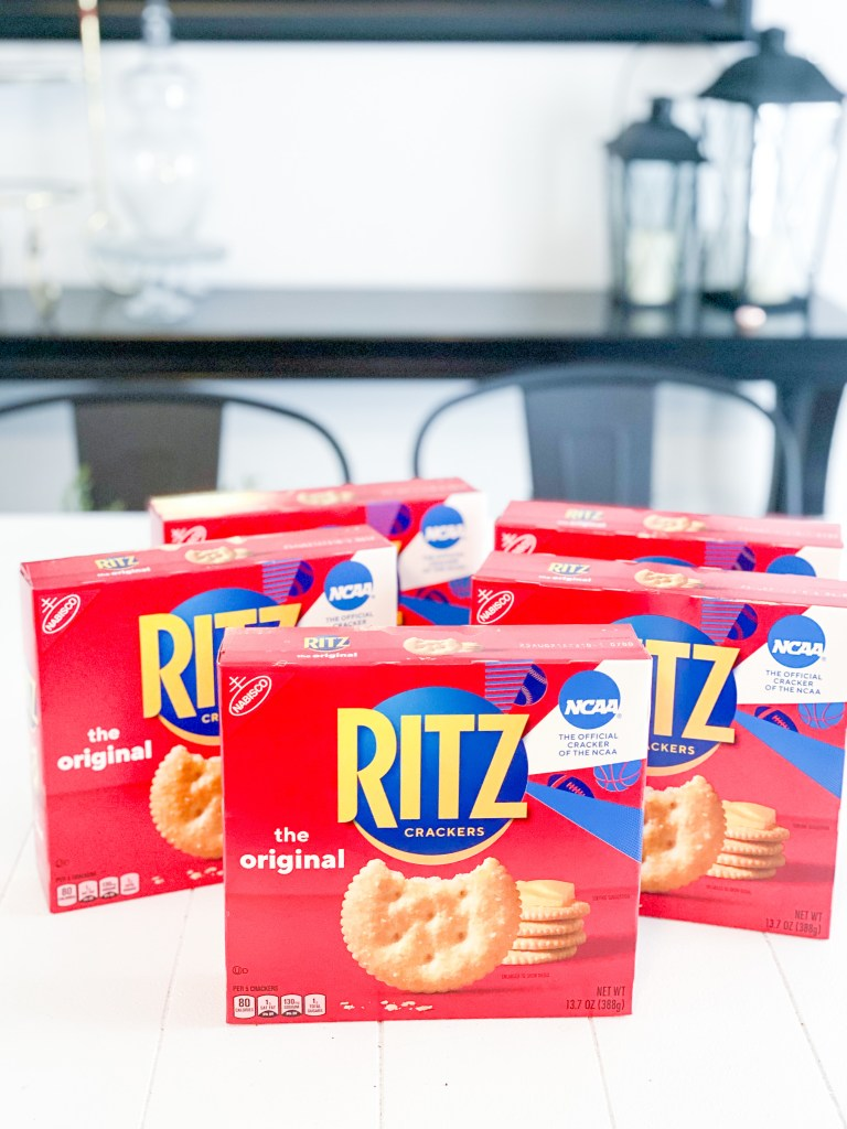 ritz crackers sitting on a table