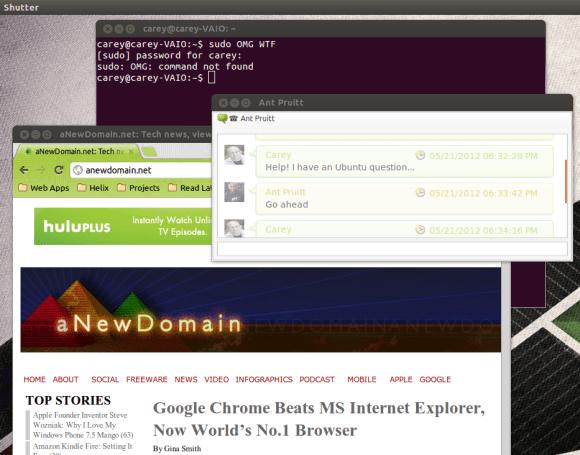 Ubuntu apps running on the desktop