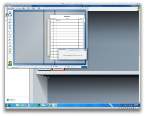 Screenshot of ScanSnap S1300deluxe software Rack2-Filer.