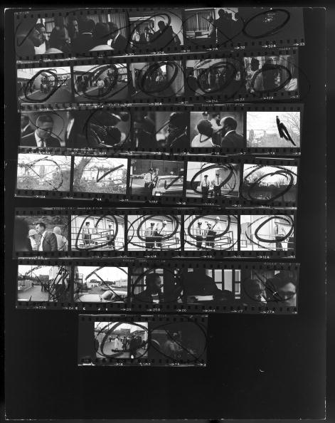 Contact sheet of the assassination of Dr. Matin Lu