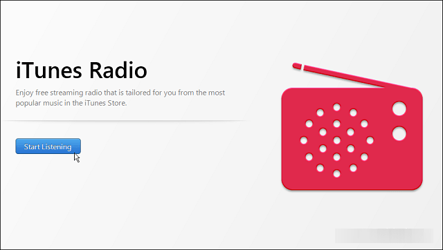 Pushing iTunes Radio