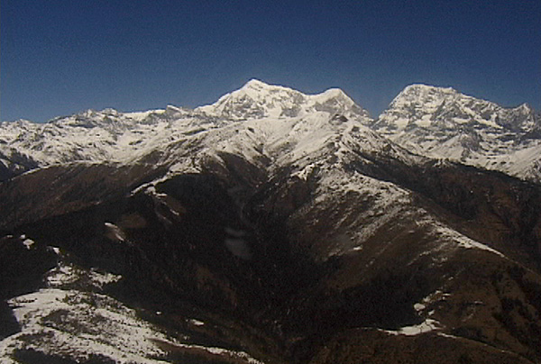 Himalaya near Mt. Everest