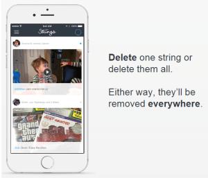 delete strings