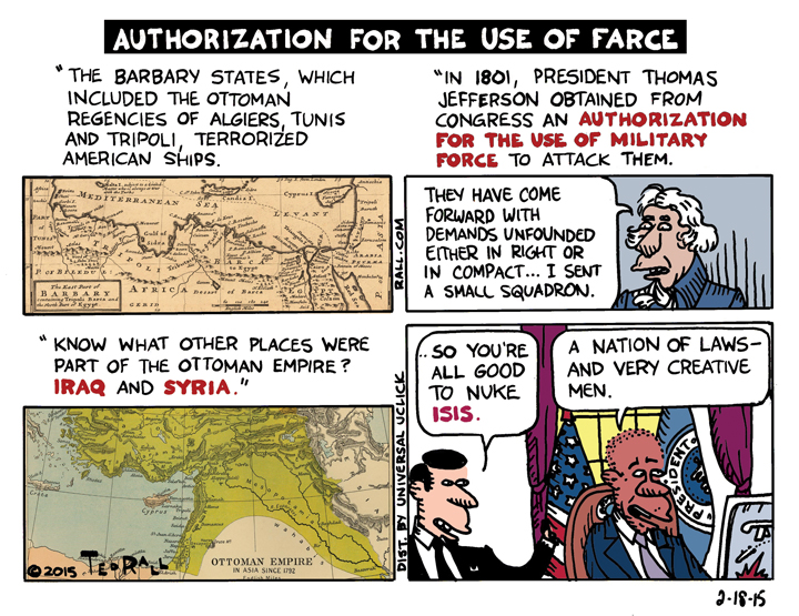 Authorization for the Use of Farce