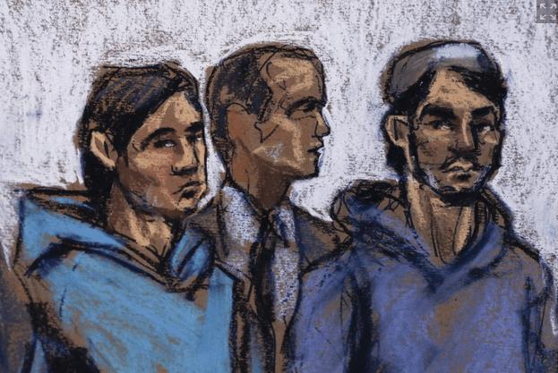 FBI ISIS ARREST -Ted Rall NYDailyNewsdrawing-nydailynews.com