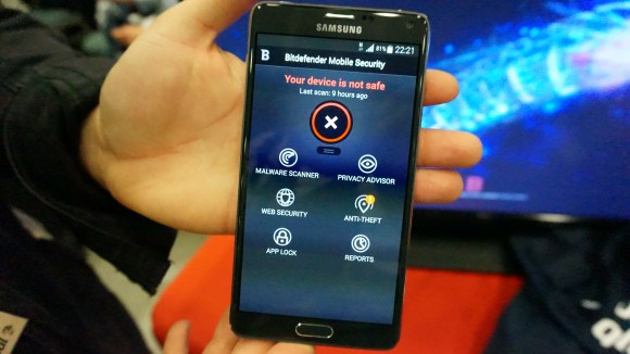 bitdefender mobile security home page MWC 2015