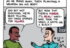 police shooting video ted rall