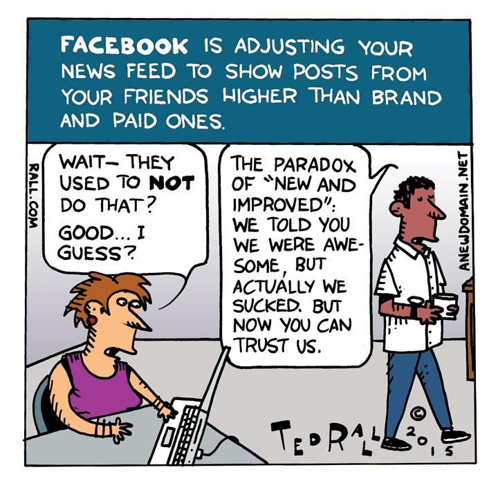 Facebook Prioritizes Content