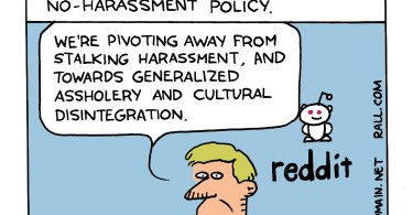 reddit harrassment policy