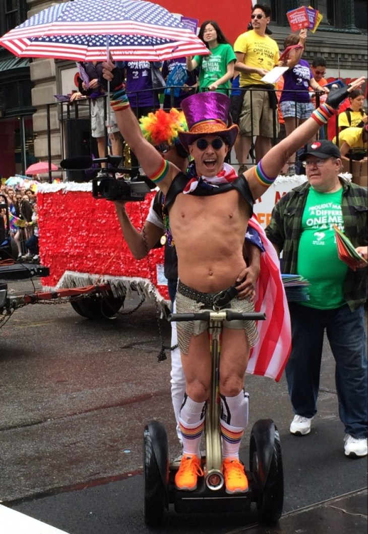 new york city pride parade 2015 segway