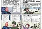 gay and lesbian troops ted rall cartoon