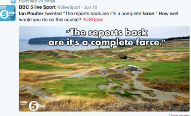 us open 2015 ian poulter tweet