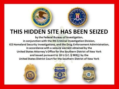 DarkNet silk road seized
