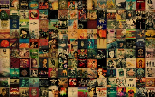 cd is dead cd wall covers