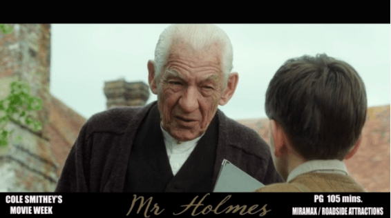Cole Smithey's Mr. Holmes review