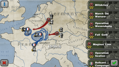 glory of generals for android review scenarios