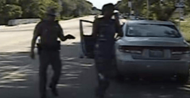sandra bland smarting off to a cop