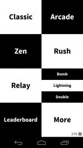 tap the white tile game modes