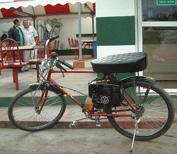 cuban internet DIY bike