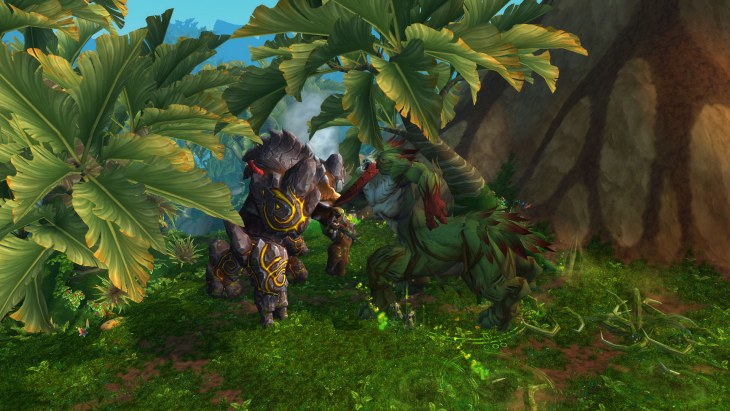 warlords of draenor Fighting mobs