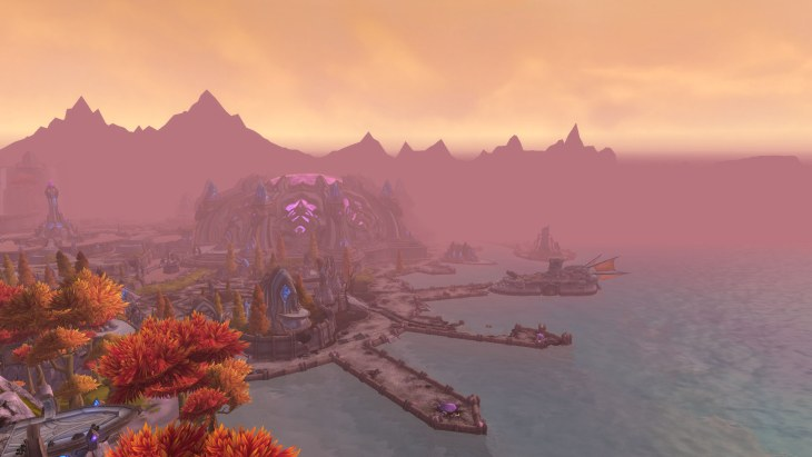 warlords of draenor Talador harbor
