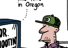 oregon school shooting ted rall cartoon anewdomain skewednews