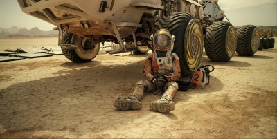 Matt Damon on Mars the martian review