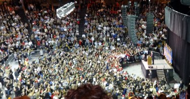 Donald Trump rally movement