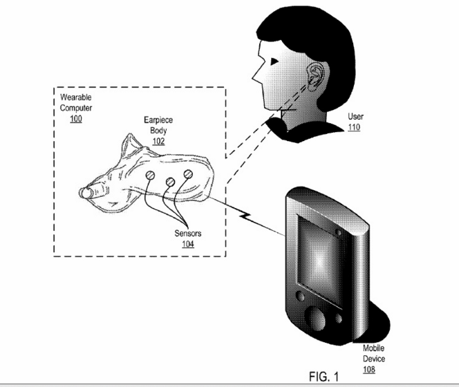 google hearable human sciences patent app