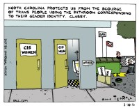 Ted Rall: NC Protects Us from Bathroom Laws. Classy ...