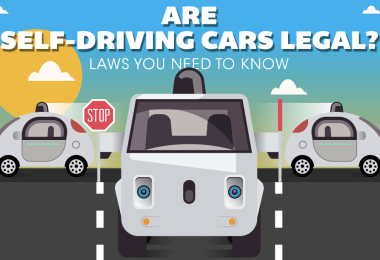 self-driving cars infographic snap out of my way robot!