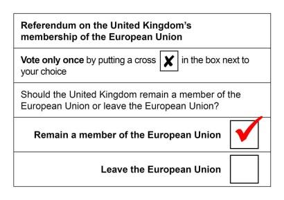 Brexit no brexit remain wins exit polls