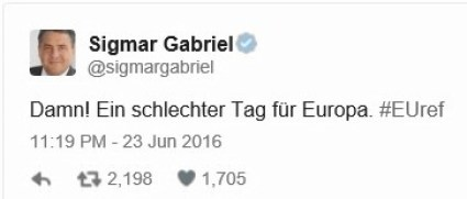 Germany wins Europe Brexit