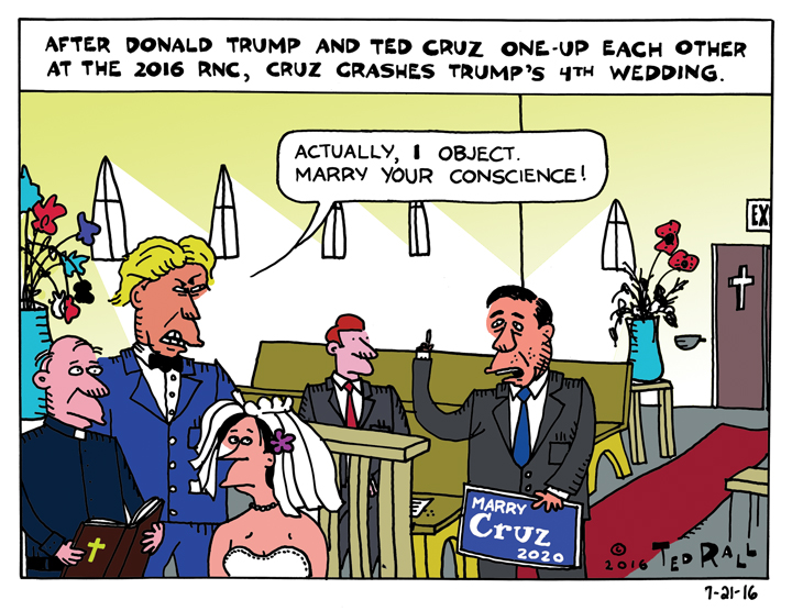 Ted Cruz Strikes Back