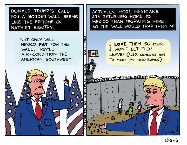 Donald Trump wall