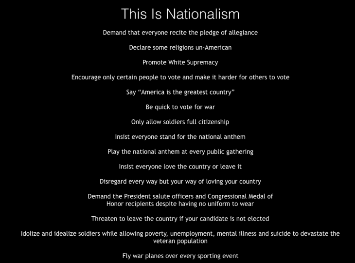 nationalism vs patriotism deplorables donald trump