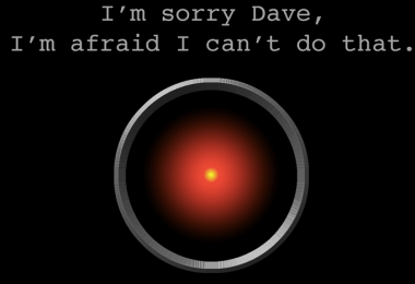 HAL 9000 White House AI report artificial intelligence sorry dave