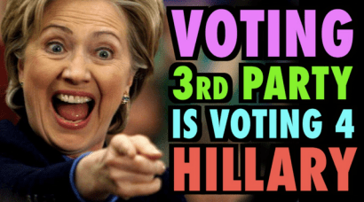 blaming third party voters how the third party harmed hillary clinton donald trump