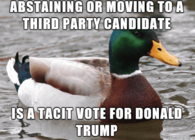 third party voters
