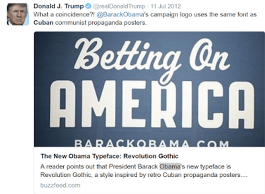 Donald Trump cuba tweets cuban mark cuban obama birther movement