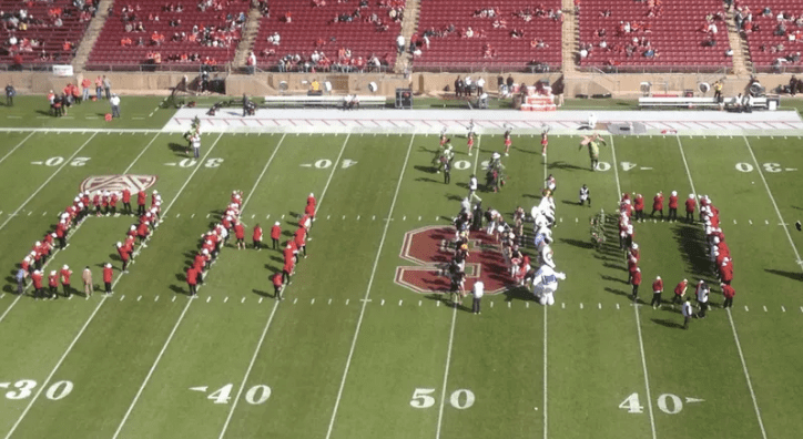 RIP Stanford Band suspended ohno