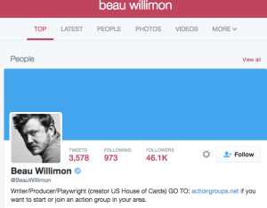 beau willimon