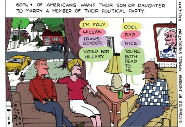 ted rall dead to me