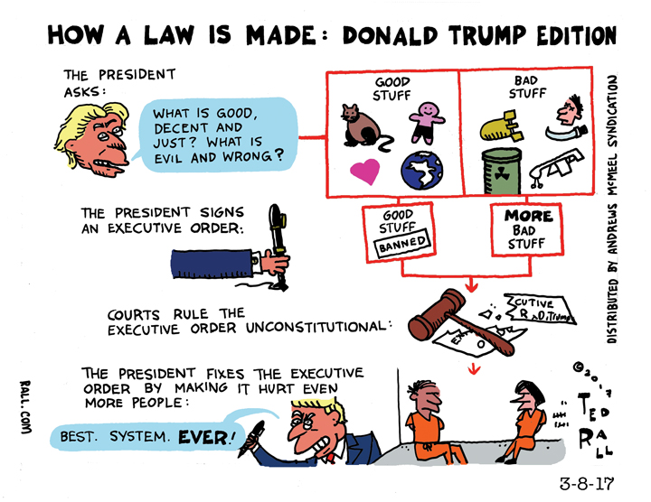 How a Law is Made: Trump Edition