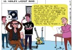 U2 Joshua Tree World's Laziest Band