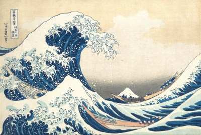 Great Wave Off Hokusai