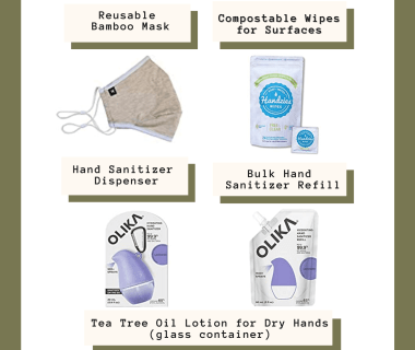 eco friendly covid packing essentials