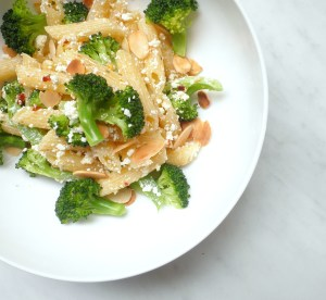Penne with Feta and Broccoli