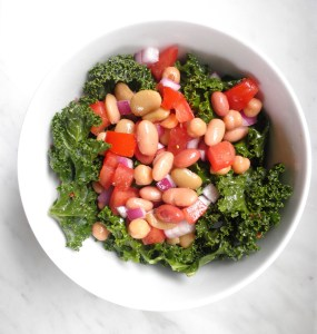 Kale and Mix Bean Salad
