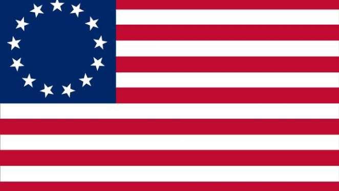 Betsy Ross Legend Flag